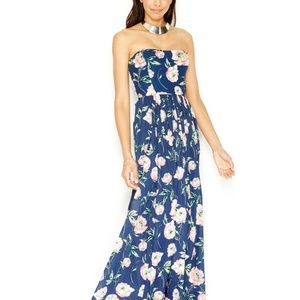 Strapless French Connection Maxi Dress, Size S